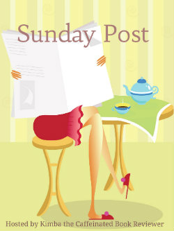 Sunday Post (5): This Week in Book Reviews, events, and giveaways!