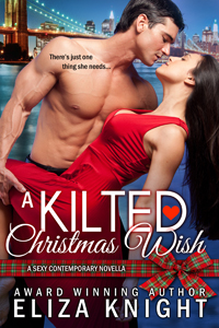 Eliza Knight Guest Blog & exclusive excerpt from A Kilted Christmas Wish