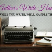 Heather & Kelly's new venture: Author's Write Hand! #authorassistant