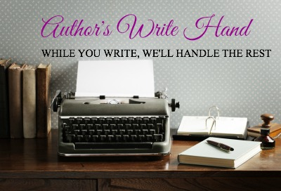 Heather & Kelly's new venture: Author's Write Hand! #authorassistant