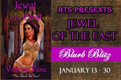#BookSpotlight: Jewel of the East by Victoria Vane
