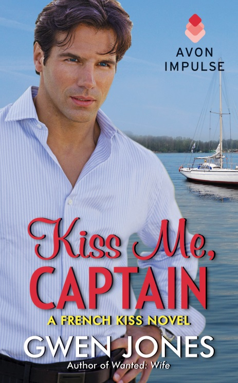 Promo: Kiss Me, Captain by Gwen Jones