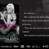 #Giveaway and Review: Broken by Cynthia Eden
