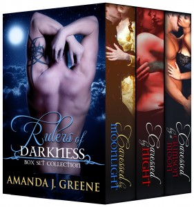 Promo: Amanda J. Greene Rulers of Darkness