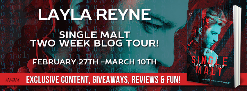 SINGLE MALT (Agents Irish & Whiskey) by Layla Reyne Release Tour!