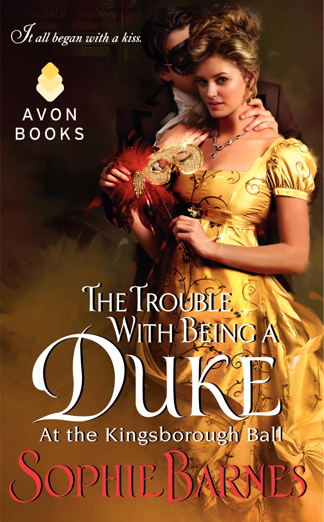Feature/Giveaway: Sophie Barnes The Trouble With Being a Duke