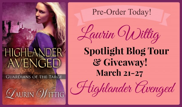 Laurin Wittig Spotlight Blog Tour & Giveaway