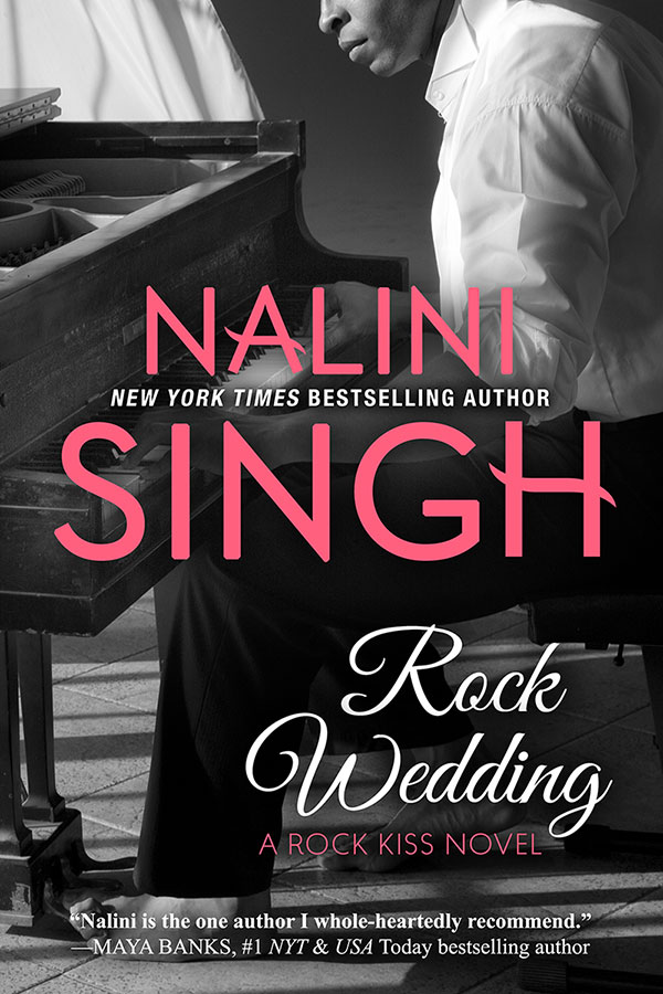 Cover Reveal: Rock Wedding by Nalini Singh