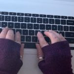 Cashmere Writing Gloves